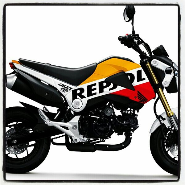 honda grom msx 125 repsol edition. Black Bedroom Furniture Sets. Home Design Ideas